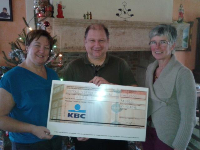 KBC helpt Hope Flanders